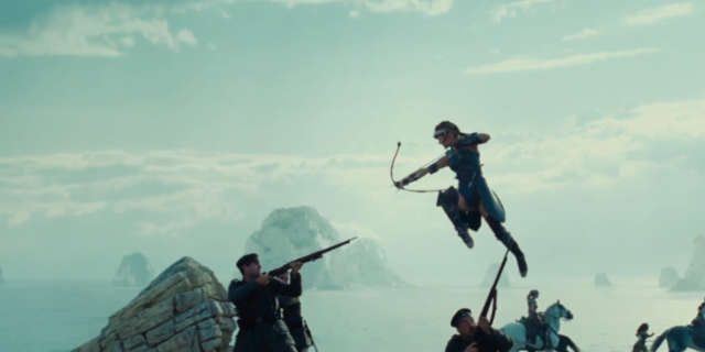 Wonder Woman Trailer Screenshots - Amazons Battling Soldiers