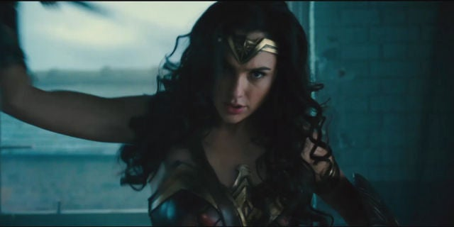 Wonder Woman Trailer Screenshots - Gal Gadot as Wonder Woman