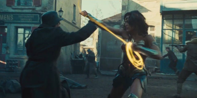 Wonder Woman Trailer Screenshots - Golden Lasso