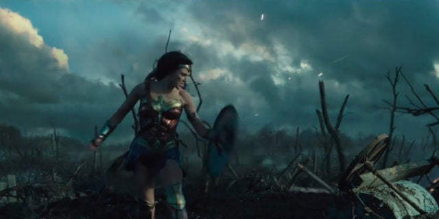 Wonder Woman Trailer Screenshots - Wonder Woman WWII Battle