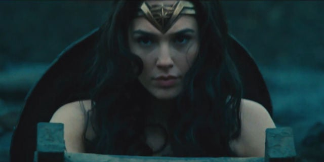 Wonder Woman Trailer Screenshots - Wonder Woman WWII Scene
