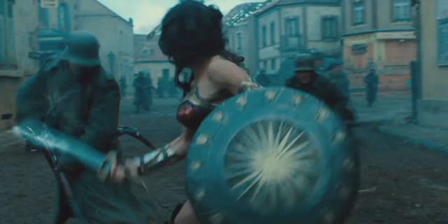Wonder Woman Trailer WWI Combat Scenes