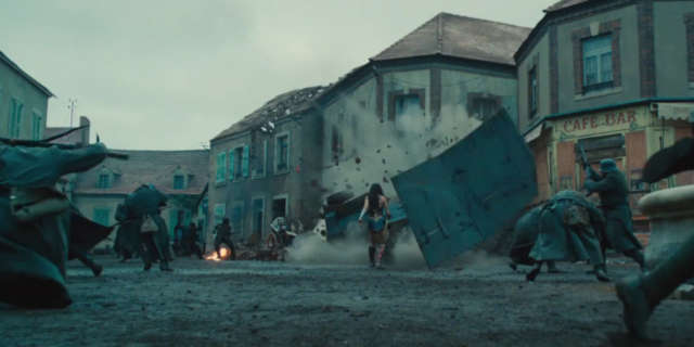 Wonder Woman Trailer WWI Combat Scens