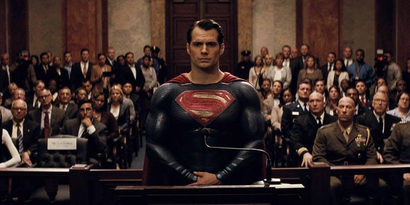 Batman v Superman is about American Politics post 9:11
