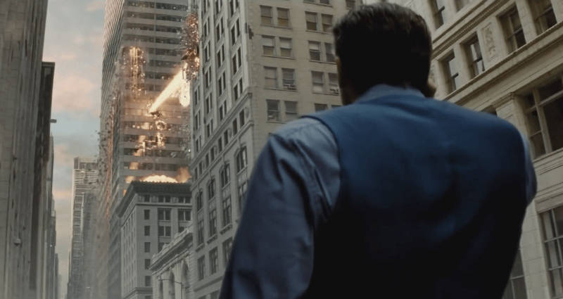 Batman v Superman Opening Man of Steel Connections