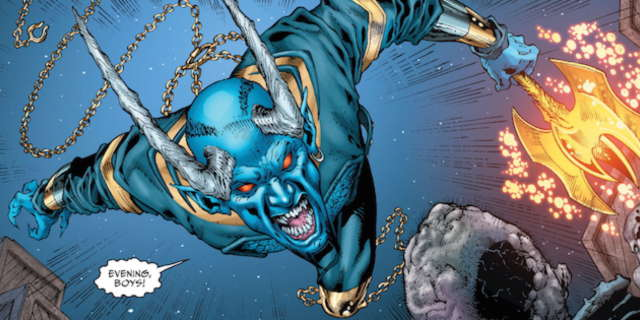 New Swamp Thing Concept Art Shows Terrifying Appearance of Blue Devil