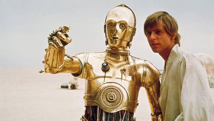 C-3PO Anothony Daniels Star Wars Rogue One K-2SO Alan Tudyk