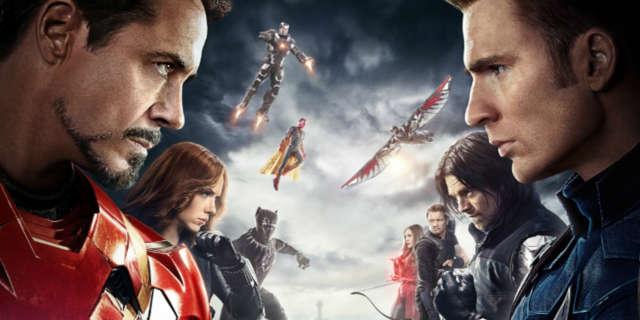 Captain America Civil War 7 Fav Films Superhero Comic Book