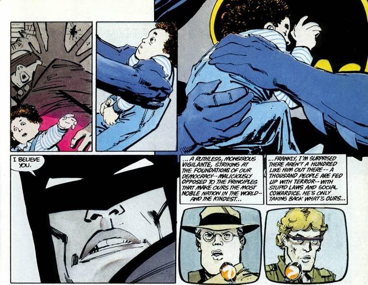 Dark Knight Returns Batman Kills