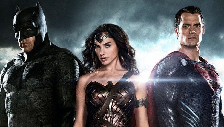 DCEU Trinity - Batman Superman Wonder Woman