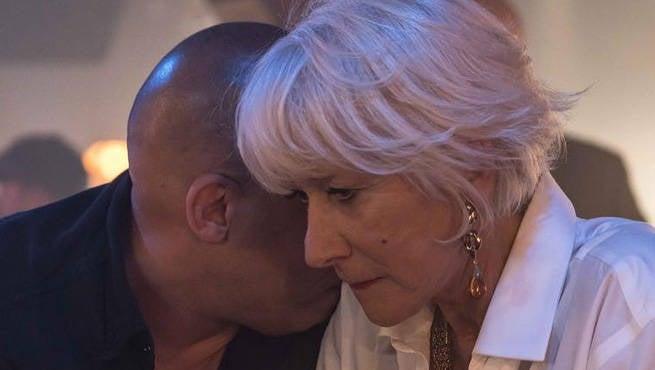 Fast 8: Vin Diesel Shares First Look at Helen Mirren