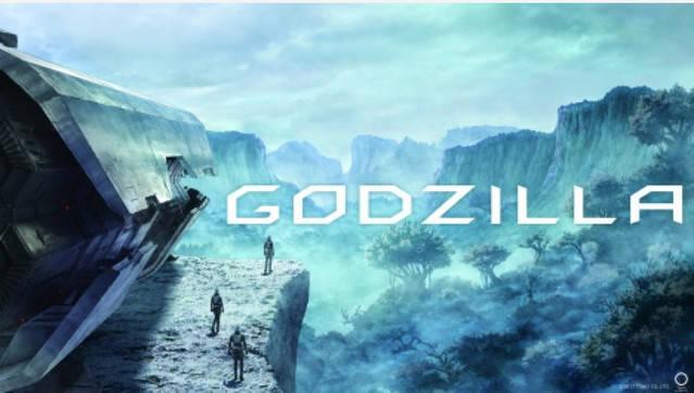 Godzilla Anime Animated Movie 2017