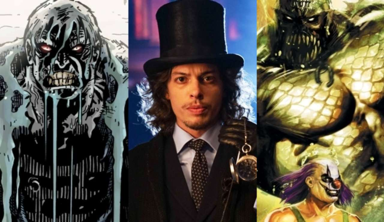 gotham ep teases killer croc, solomon grundy and mad hatter's season