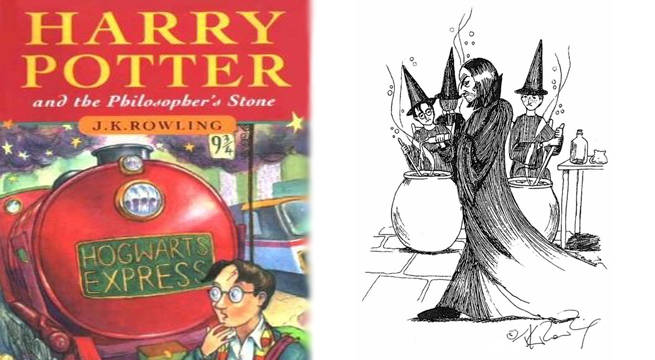 harry potter sketches