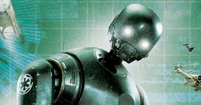 K-2SO Star Wars Rogue One Origin Story Empire Droid