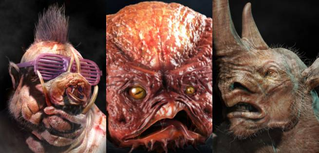 Tmnt Out Of The Shadows Concept Art Bebop Rocksteady Krang