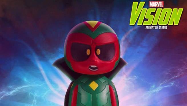Marvel Vision Animated Statue Header