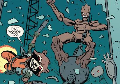 Optimized-Rocket Raccoon and Groot Michael Walsh Interior