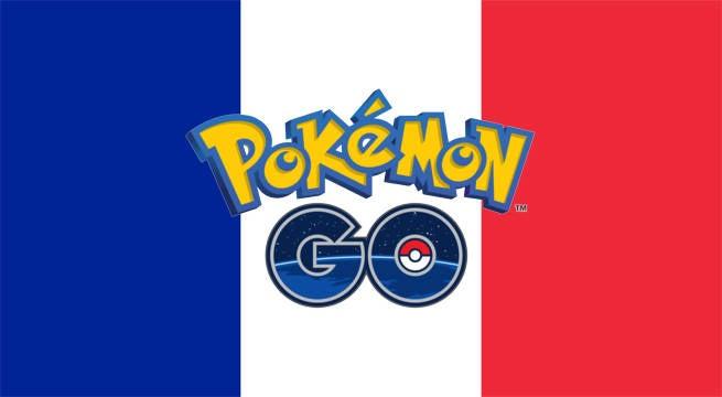 pokemon go france