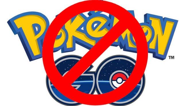 Pokemon GO NO GO