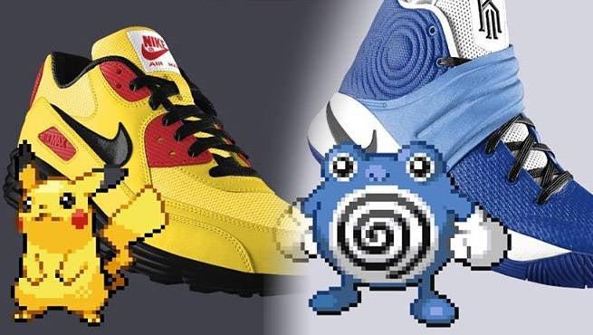 bfb9e76200b4 Pokemon Invade Your Favorite Nike s Thanks To Poke ID
