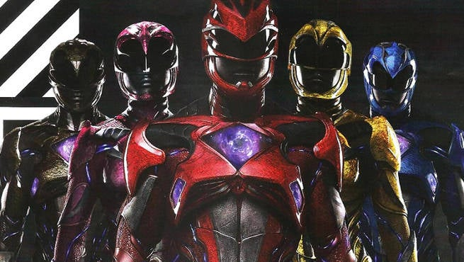 Power Rangers Movie Header
