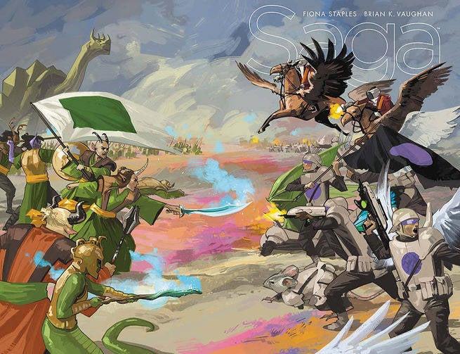 Saga #37 Cover