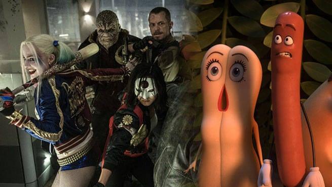 Suicide Squad Sausage Party