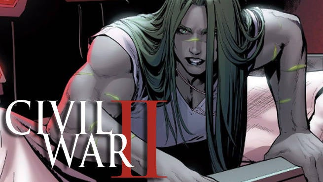 She Hulk Civil War II