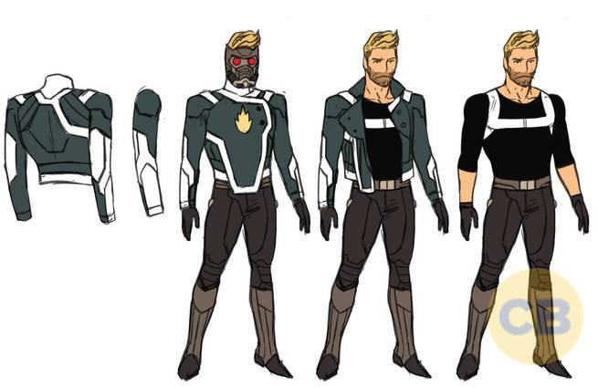 Star-Lord designs Anka