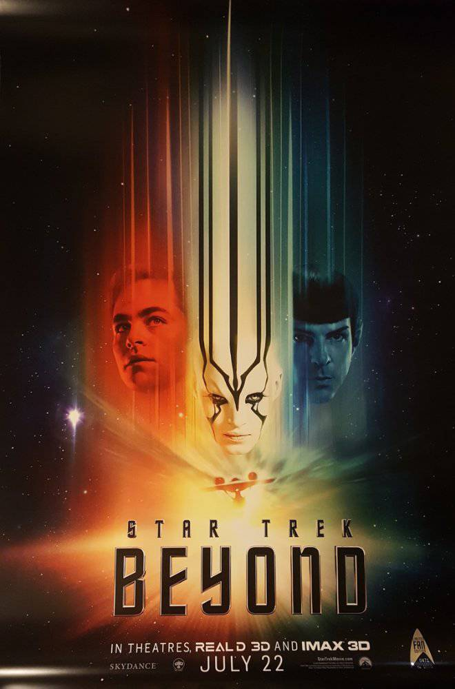 Star Trek Beyond movie poster image