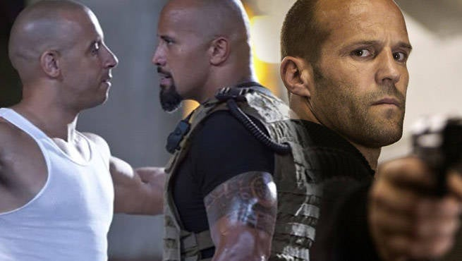 Jason Statham Comments On The Rock And Vin Diesel's Fast 8 Feud