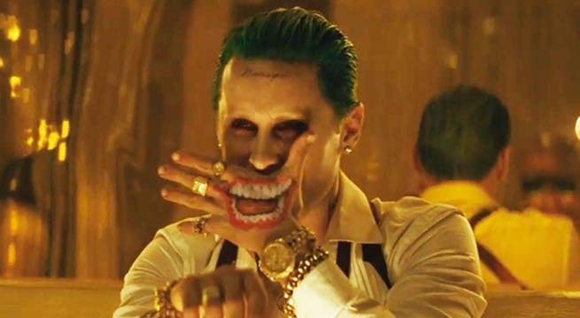 Suicide Squad Joker Hand Tattoo Smile