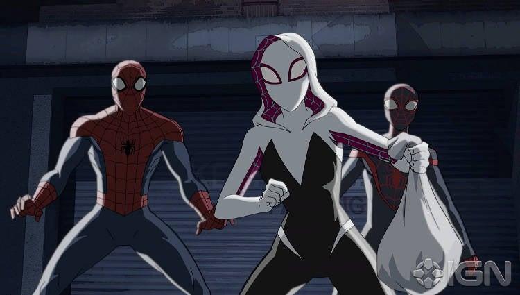 Ultimate Spider-Man Season 4 Spider-Gwen Preview