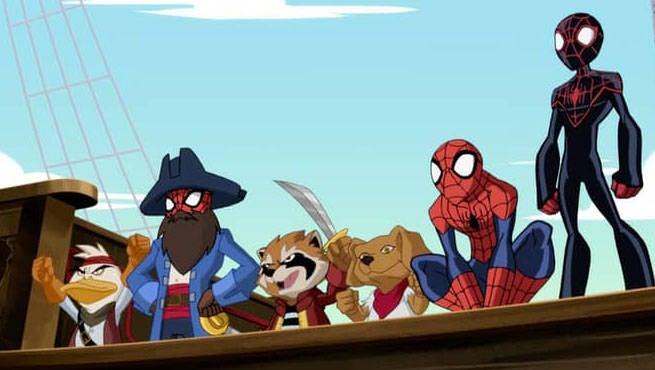 Ultimate SpiderMan Web Beard