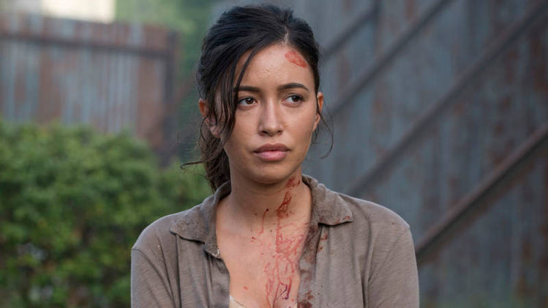 Walking Dead Season 7 Negan Kill Rosita