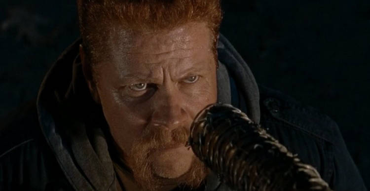 Walking Dead Season 7 Negan Kills Abraham