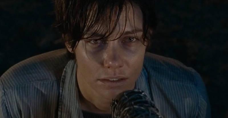 Walking Dead Season 7 Negan Kills Maggie