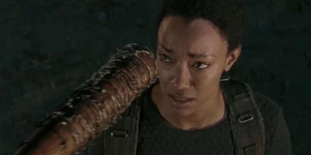 Walking Dead Season 7 Negan Kills Sasha