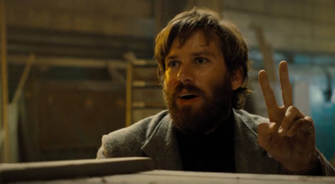 Brie Larson And Armie Hammer Have Epic Gun Fight In Free Fire Red Band Trailer