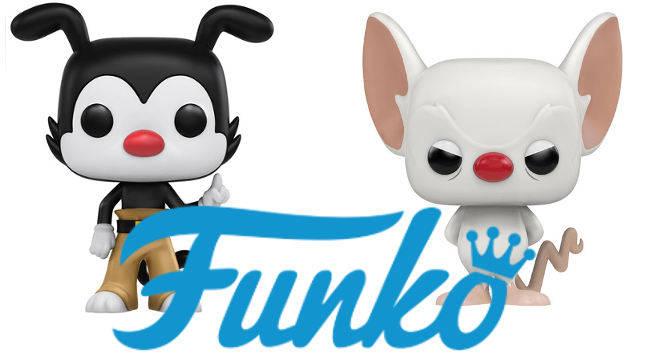 Animaniacs Pinky The Brain Funko