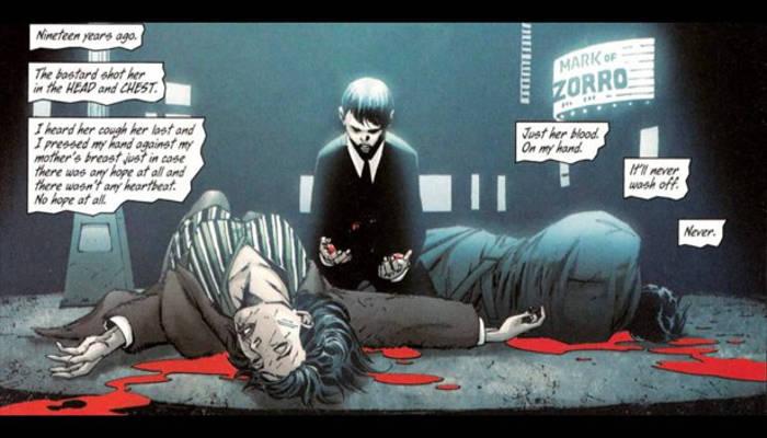 Batman Origin Story Death of Thomas and Martha Wayne