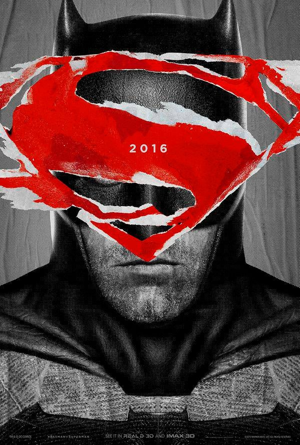 Batman v Superman: Dawn of Justice movie poster image