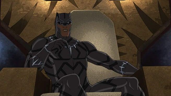 Black Panther Ultron Rev