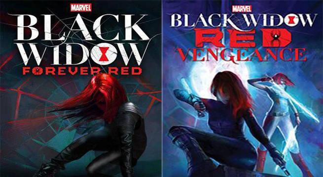 black widow ya novels