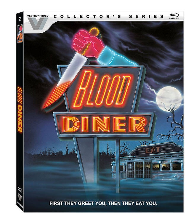 Exclusive Vestron Video Clip: Drew Godderis in Blood Diner, Out Tomorrow