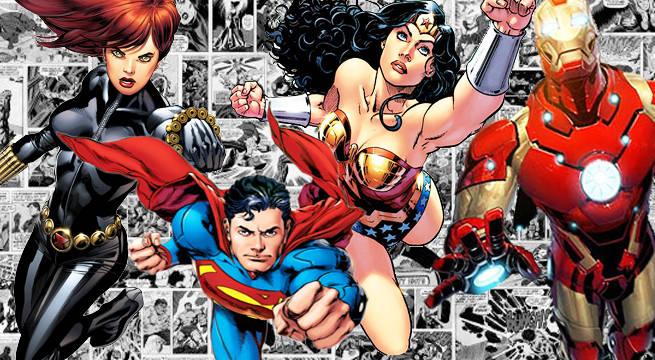 comic book superheroes ya novels
