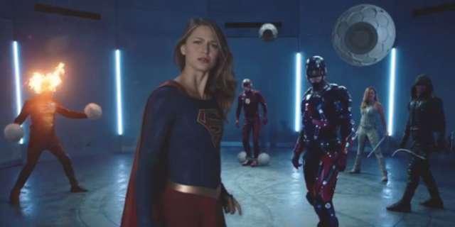 CW Superhero Fight Club 2.0 trailer - Supergirl Flash Arrow Legends Tomorrow