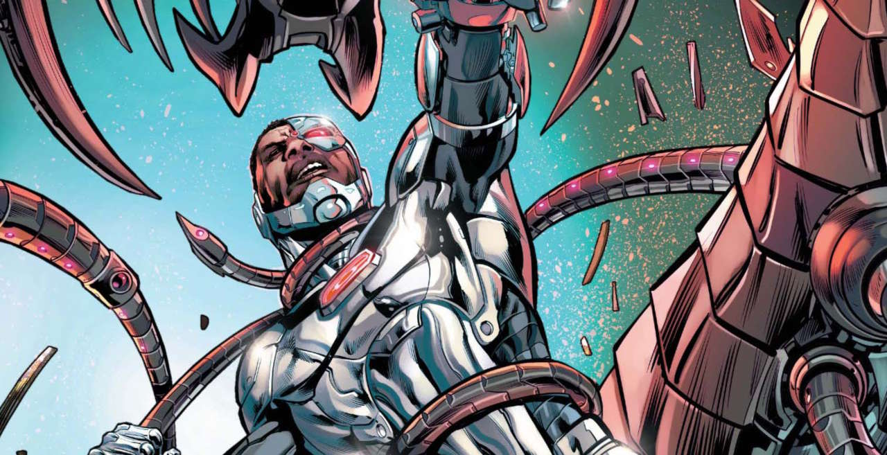 Dc Comics Fans React To First Look At Cyborg In Doom Patrol