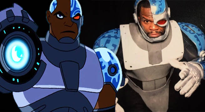 50 Cent Cosplays As Teen Titans' Cyborg